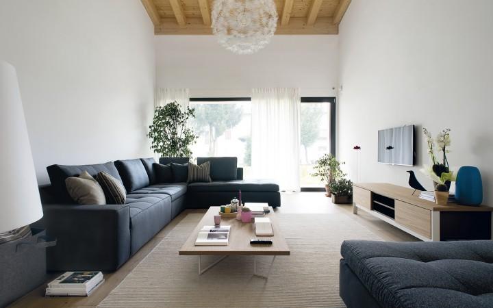 Obývací pokoj v moderním stylu