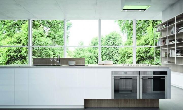 Jednoduchá kuchyň v moderním stylu