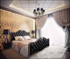 Luxusní ložnice každým coulem