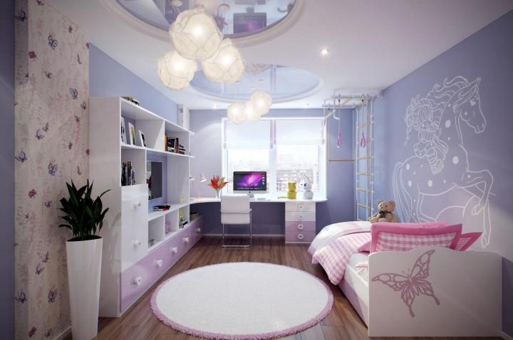 Dětský pokoj, který podporuje fantazii