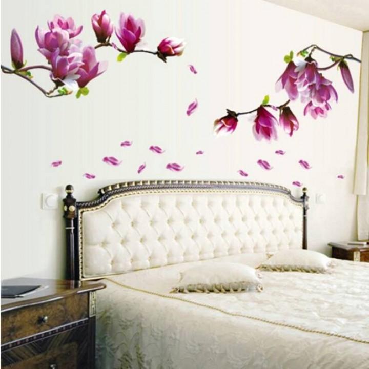 Květinové vzory v interiéru