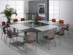 Luxusní kancelář v neutrálních barvách