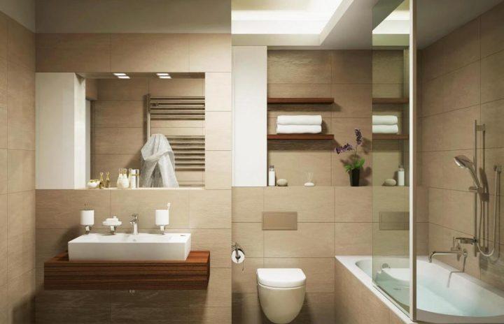 Moderní koupelna pro rok 2016
