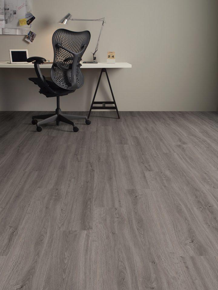 Studovna, či pracovna s vinylovou podlahou Cavalier Oak