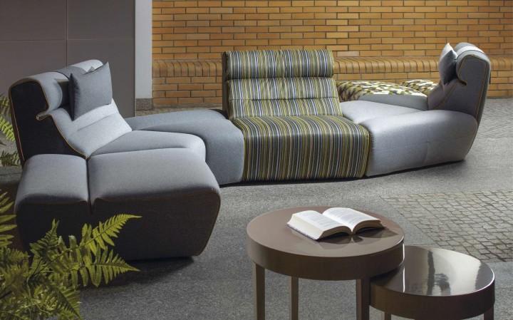 SWING – atypická textilní sedačka