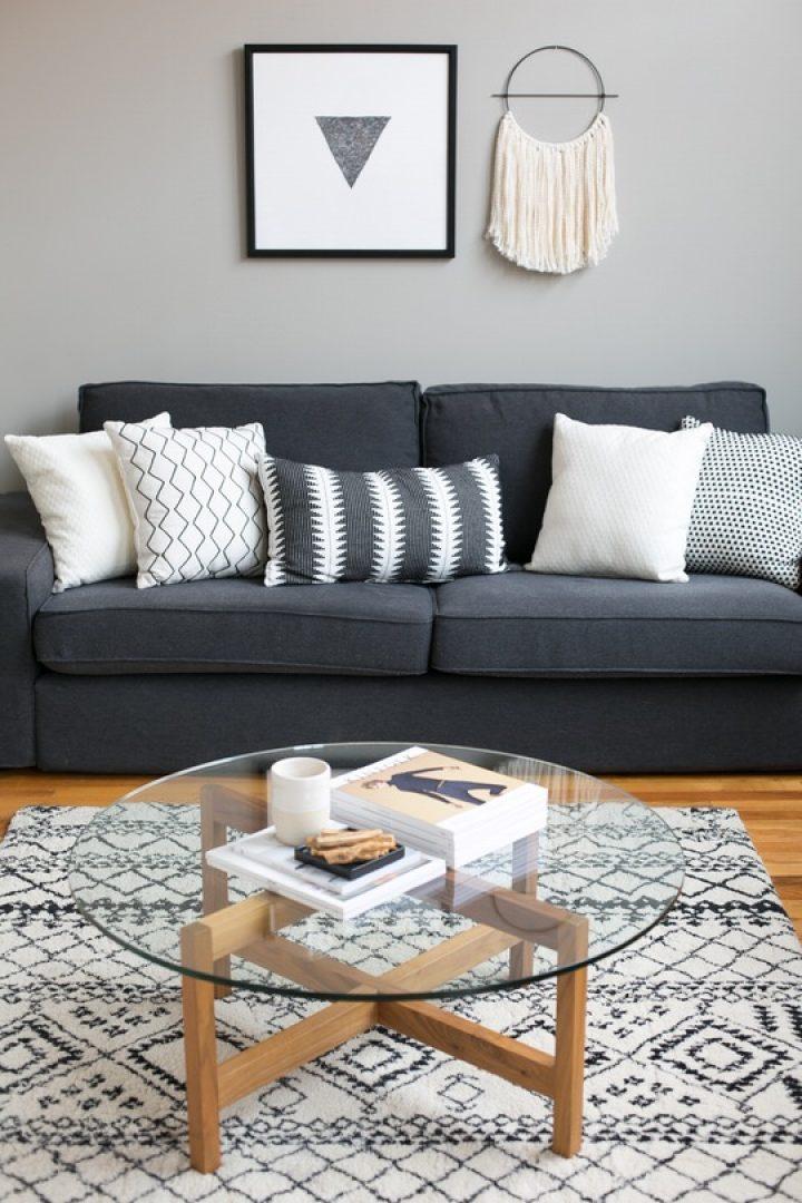 Vzory v obývacím pokoji