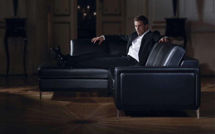 Luxusní nábytek v černé barvě