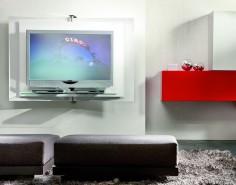 Chytrá TV stěna