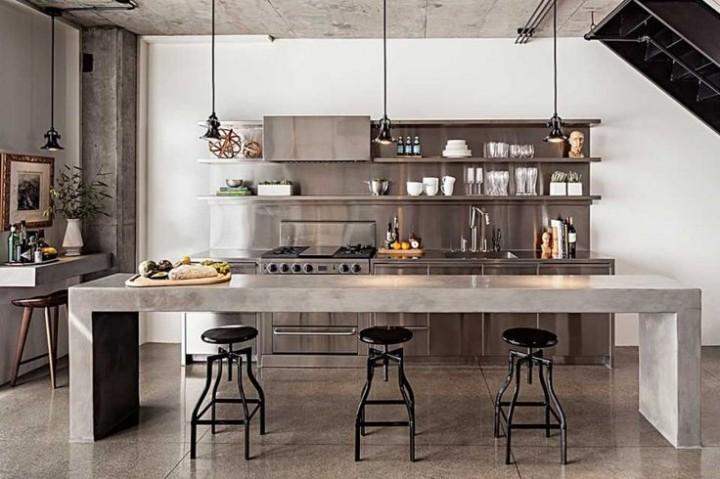 Multifunkční deska v kuchyni