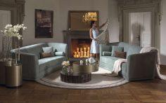 Elegantní design v obývacím pokoji