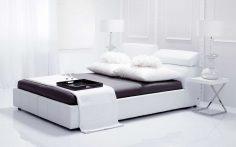 Luxusní bílá postel Milonga