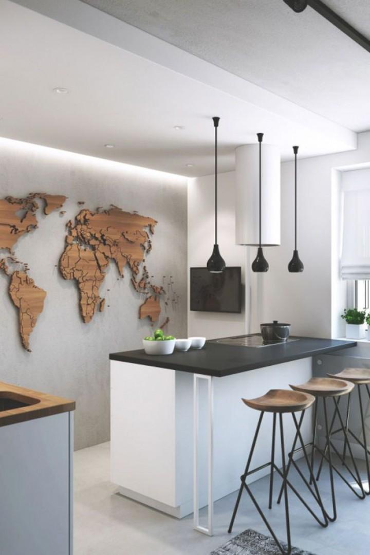 Když minimalismus vládne v kuchyni