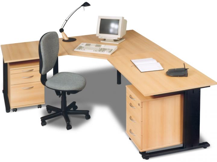 Rohový stůl pro vaši kancelář