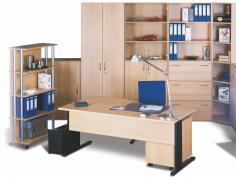 Kancelář s dostatkem úložného prostoru