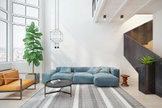 Moderní interiér v retro stylu