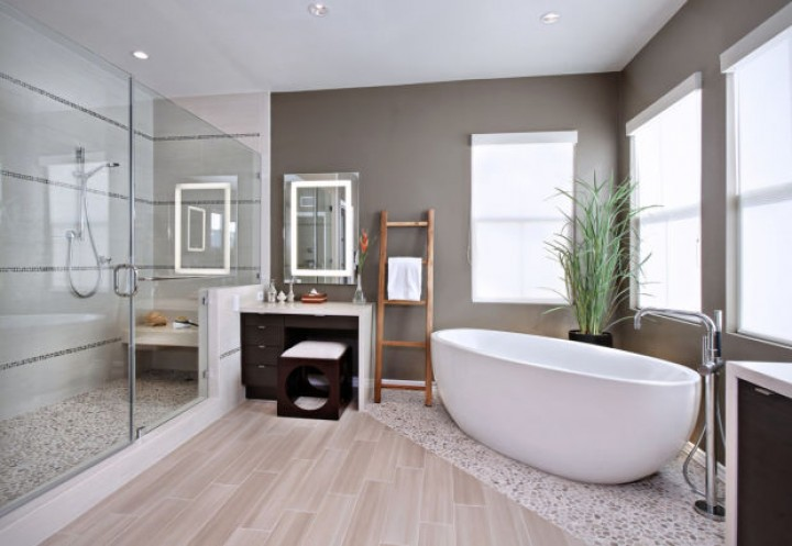 Sprchový kout je základem koupelny