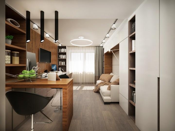 Praktický interiér v moderním stylu