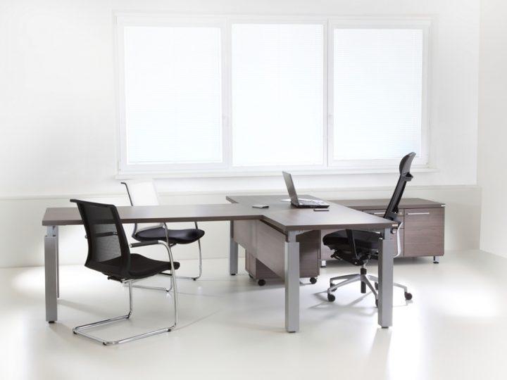 Designová kancelář v minimalistickém duchu
