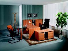 Moderní kancelář ve dřevě