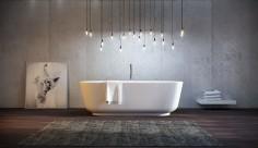Originální osvětlení rozzáří vaši koupelnu