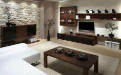 Přírodní materiály interiéru sluší
