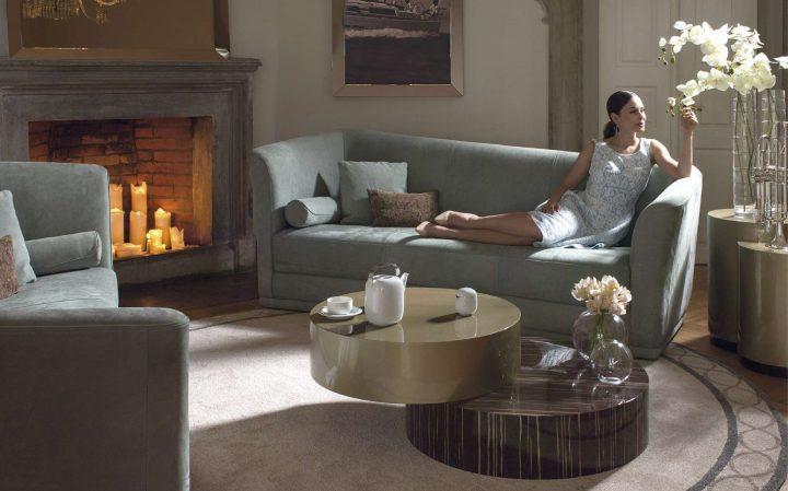 Obývací pokoj v italském stylu, který zaujme