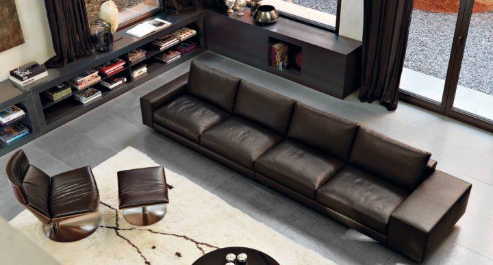 Obývací pokoj v pánském stylu
