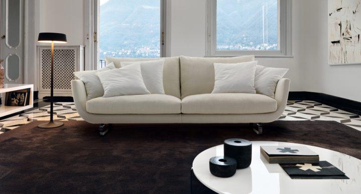 Obývací pokoj v zemitých tónech