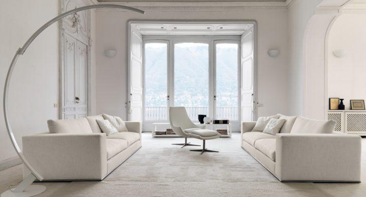 Elegantní pokoj v bílé barvě