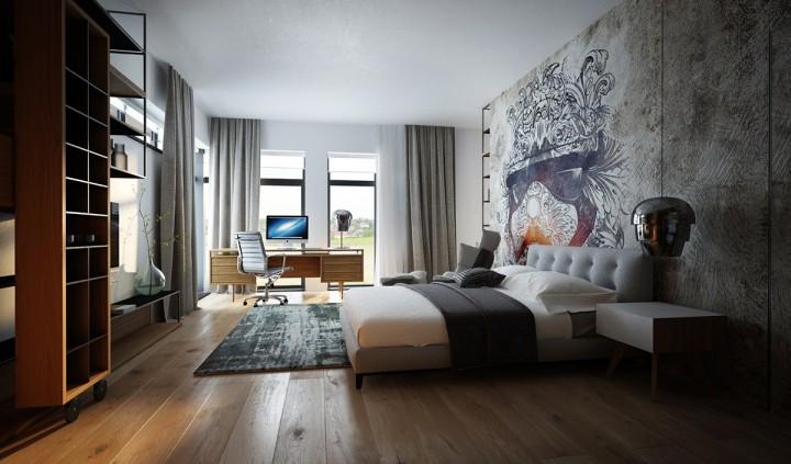 Inspirativní ložnice