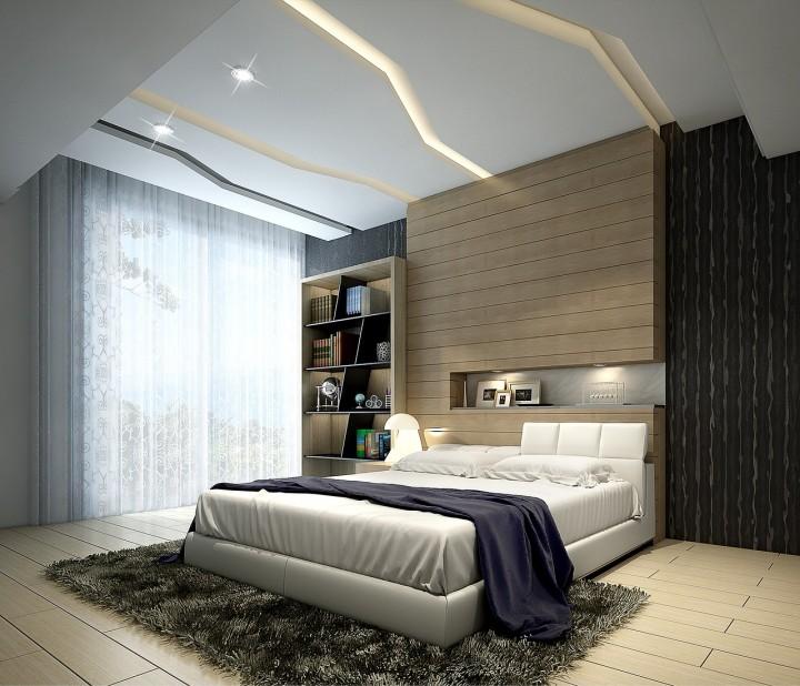 Ložnice určená k odpočinku