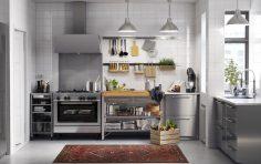 Kuchyň z nerezu