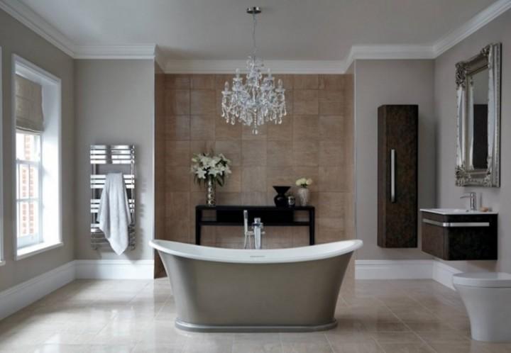Elegantní koupelna ve skandinávském pojetí