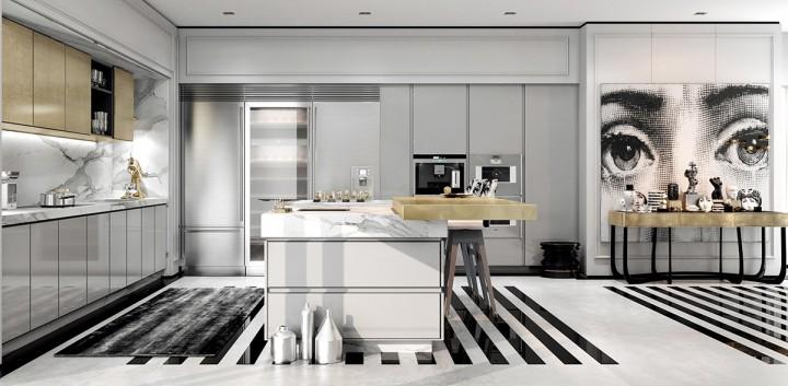 Luxusní kuchyň v moderním duchu