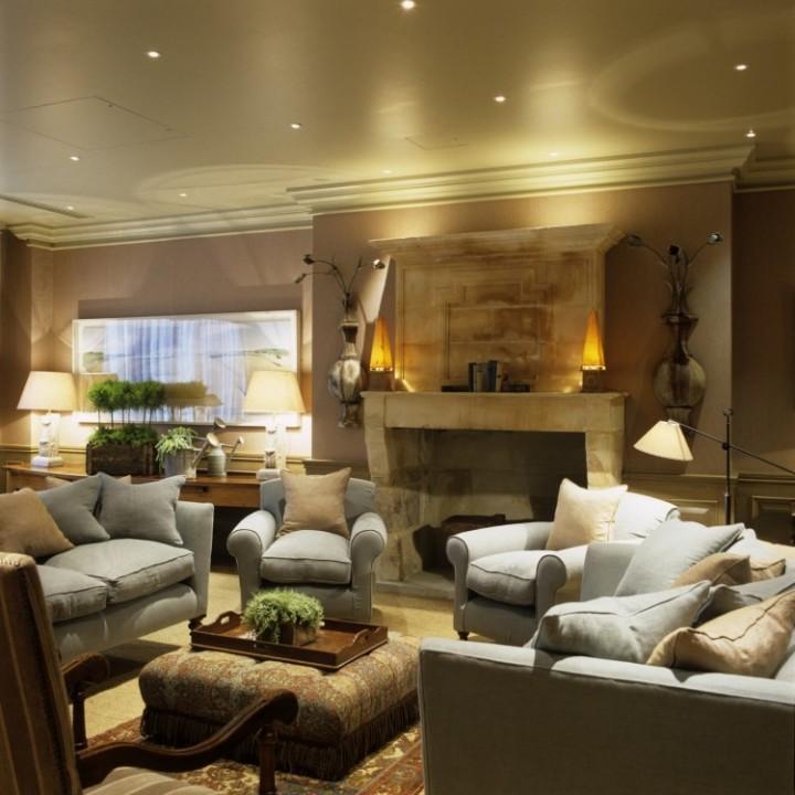 Křesla jako základ obývacího pokoje