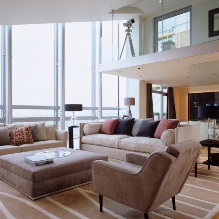 Podzimní barvy rozzáří váš obývací pokoj