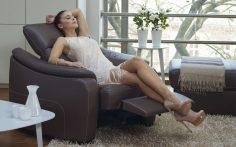 Luxusní odpočinek v obývacím pokoji