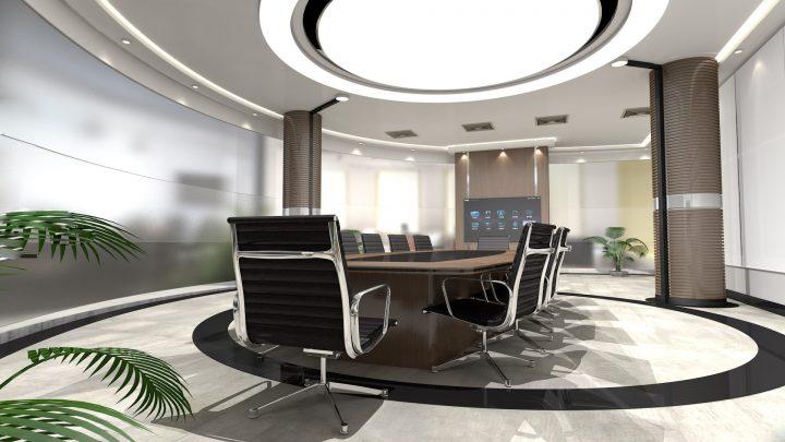 Luxusní zasedací místnost