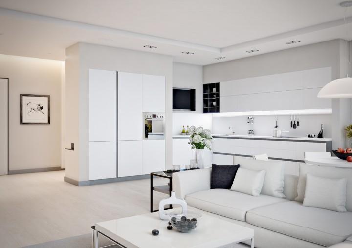 Malý interiér s osobitým kouzlem