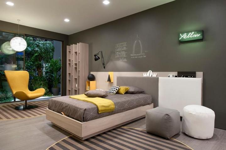 Cool studentský pokoj