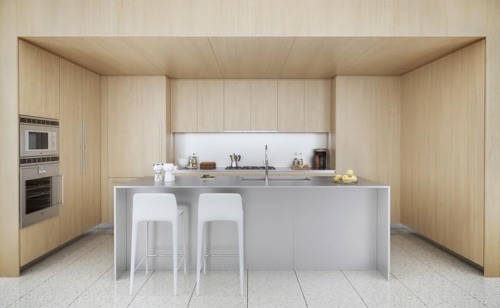 Minimalismus a přírodní materiály v kuchyni