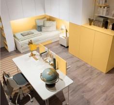 Moderní pokojík ve žluté