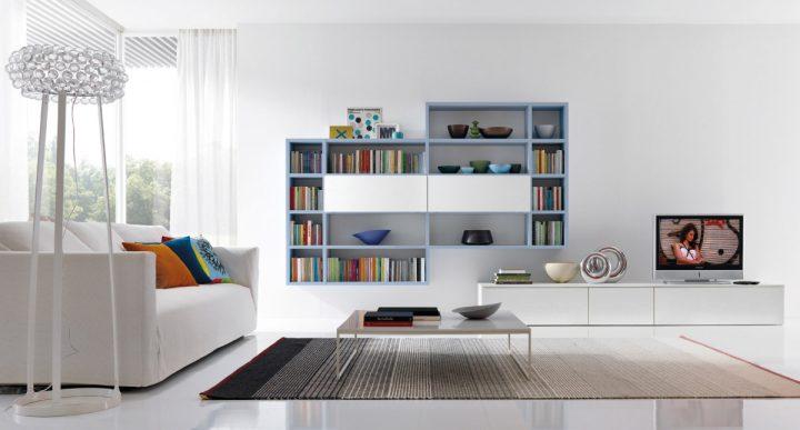 Obývací pokoj v barvách