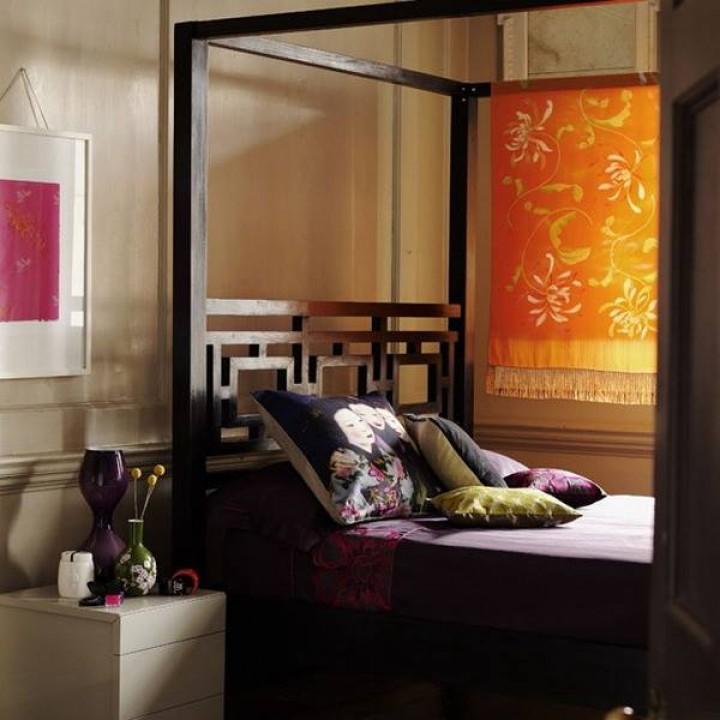Asijský styl pro Vaši ložnici