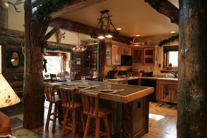Kuchyň, která dýchá přírodou