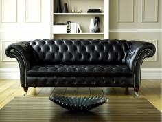 Luxusní kožená sedačka