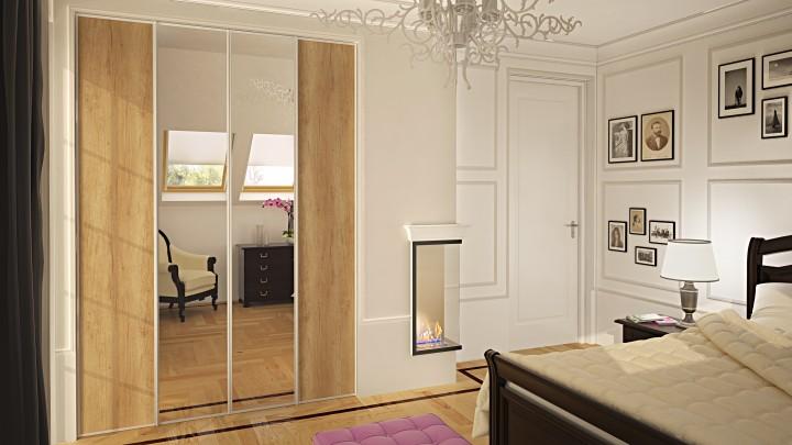 Ložnice na míru v zámeckém stylu