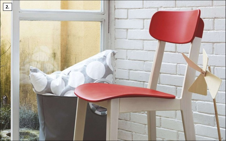 Univerzální moderní židle CREAM