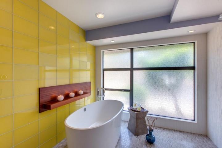 Koupelna ve žluté