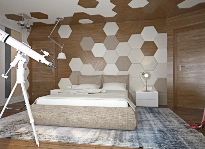 Ložnice inspirovaná přírodou